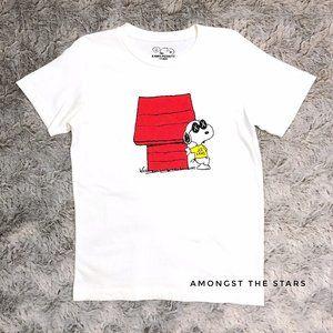 Uniqlo x KAWS Peanuts Snoopy White T-Shirt Tee